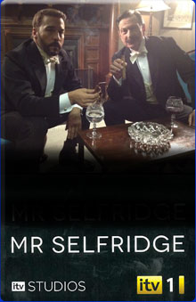 Miss Selfridge with Michael Brandon